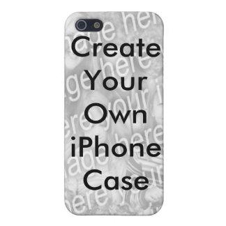 Cree su propio caso del iPhone 4 añaden su foto iPhone 5 Carcasas