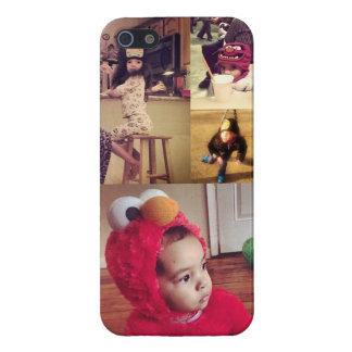 Cree su propio caso del iPhone 5s del collage de iPhone 5 Fundas