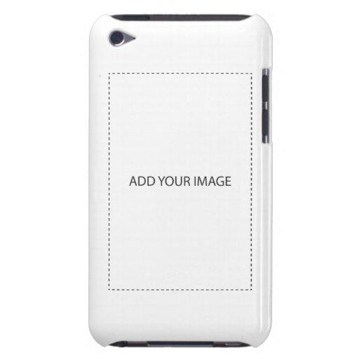 cree su propio caso del tacto de iPod del personal iPod Case-Mate Protectores