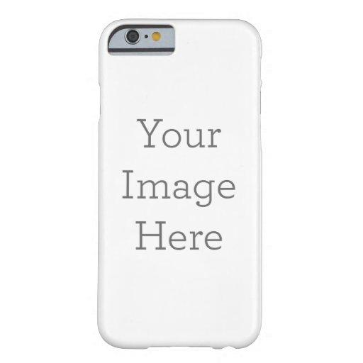 Cree su propio caso delgado del iPhone 6 Funda De iPhone 6 Barely There