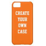 Cree su propio caso - naranja