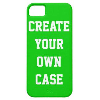 Cree su propio caso - verde de hierba iPhone 5 Case-Mate cárcasas
