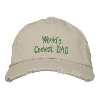 Cree su propio casquillo destruido béisbol del día gorras de beisbol bordadas