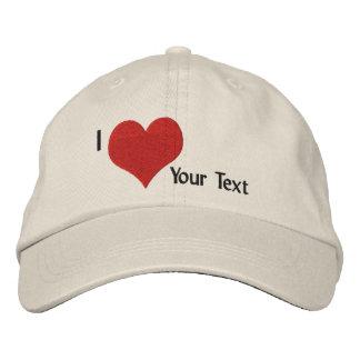 Cree su propio casquillo gorra bordada