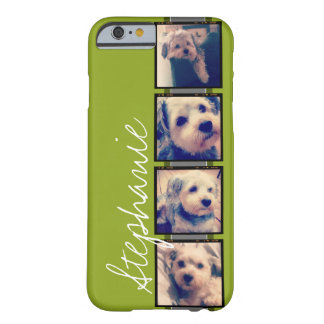 Cree su propio collage de la foto de Instagram Funda De iPhone 6 Barely There