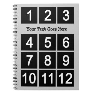 Cree su propio cuaderno del texto de Instagram