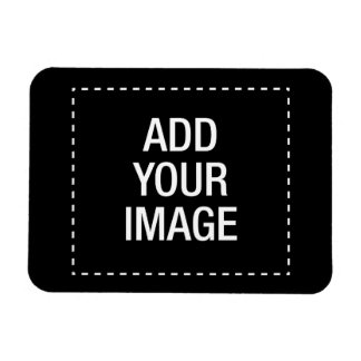 Cree su propio customizeable de encargo personaliz imán rectangular