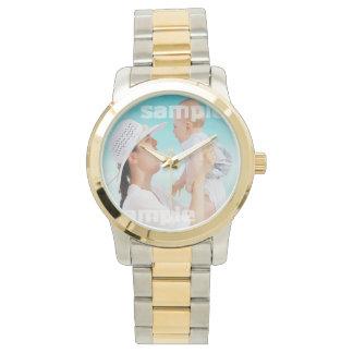 Cree su propio de un personalizado bueno relojes de pulsera