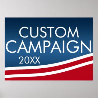 Cree su propio diseño de la elección póster