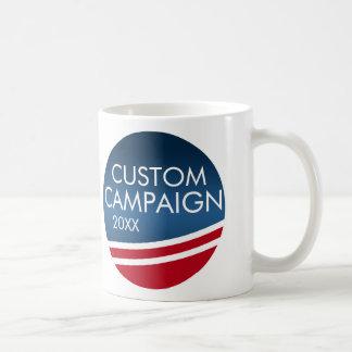 Cree su propio diseño de la elección taza básica blanca