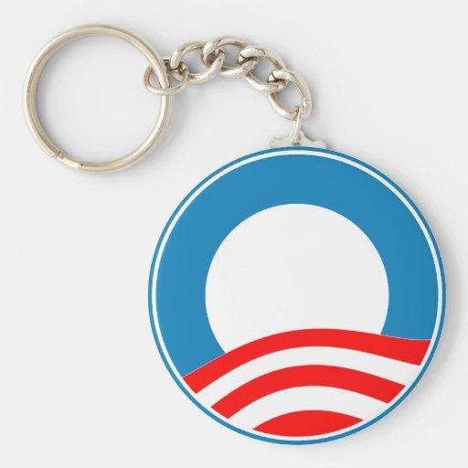 Cree su propio diseño de Obama Llavero Redondo Tipo Pin