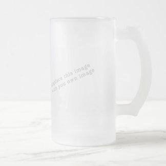 Cree su propio diseño jarra de cerveza esmerilada