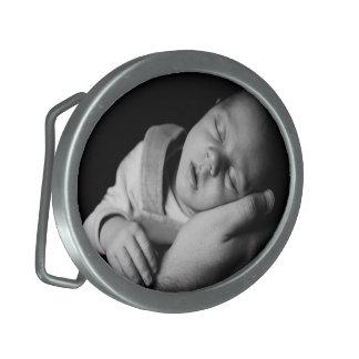 Cree su propio DIY personalizado uno de una clase Hebilla Cinturon Oval
