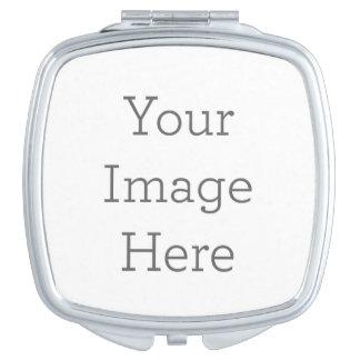 Cree su propio espejo compacto - cuadrado