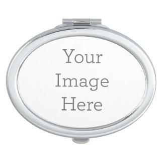 Cree su propio espejo compacto - óvalo