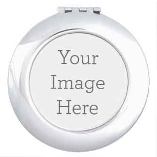 Cree su propio espejo compacto - redondo