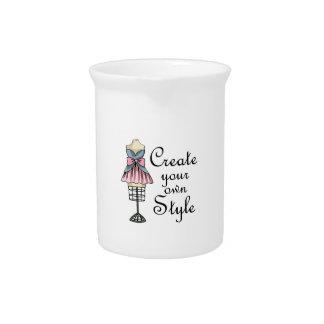 Cree su propio estilo jarra para bebida