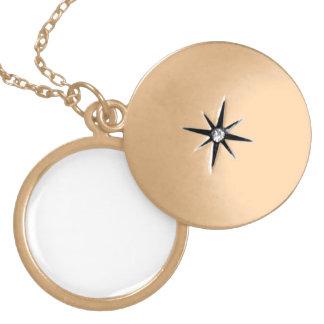 Cree su propio final personalizado Locket del oro Medallones