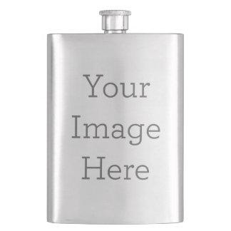 Cree su propio frasco del acero inoxidable petaca