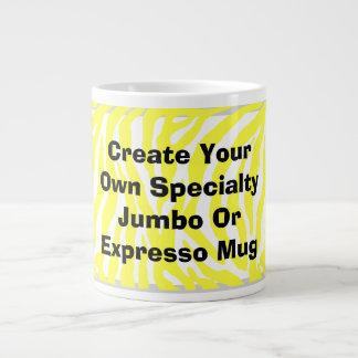 Cree su propio jumbo o taza de Expresso Tazas Jumbo
