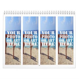Cree su propio mes por mes calendarios