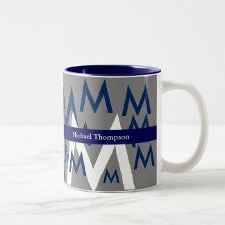 cree su propio monograma de la taza