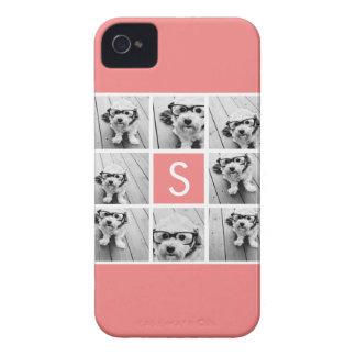 Cree su propio monograma del personalizado del col Case-Mate iPhone 4 cobertura
