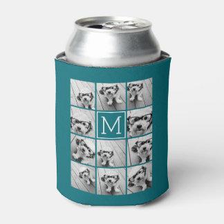 Cree su propio monograma del personalizado del enfriador de latas