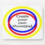Cree su propio mousepad tapetes de raton