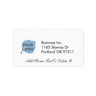 Cree su propio negocio etiqueta de dirección