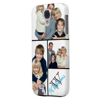 Cree su propio nombre simple del collage w/Custom Funda Samsung S4