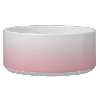 Cree su propio Ombre rosado Tazones Para Perro