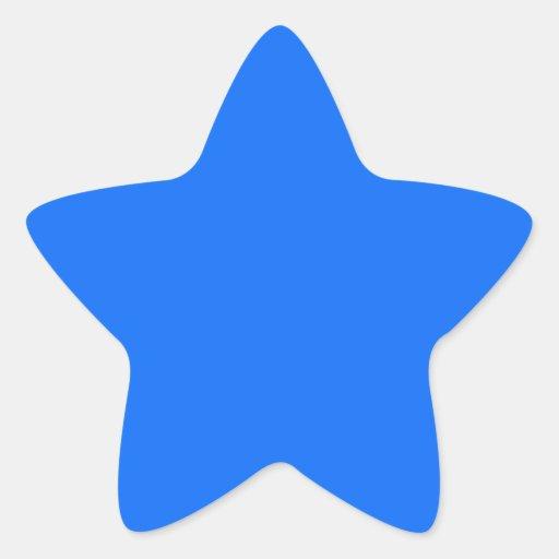 Cree su propio personalizado pegatina en forma de estrella