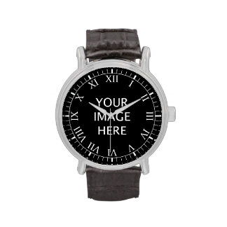 Cree su propio personalizado relojes de pulsera
