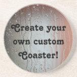 ¡Cree su propio práctico de costa de encargo! Posavasos Personalizados