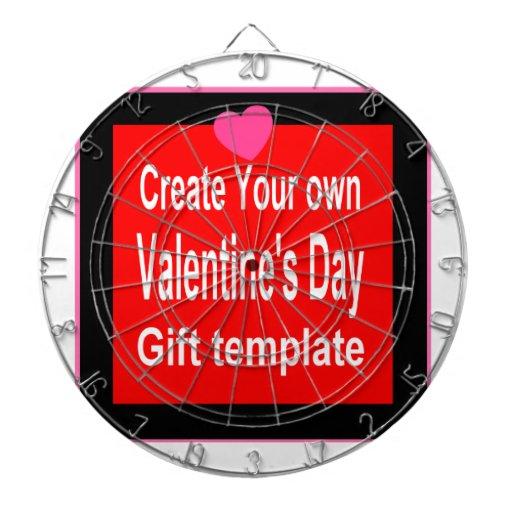 Cree su propio presente modificado para requisitos tablero de dardos
