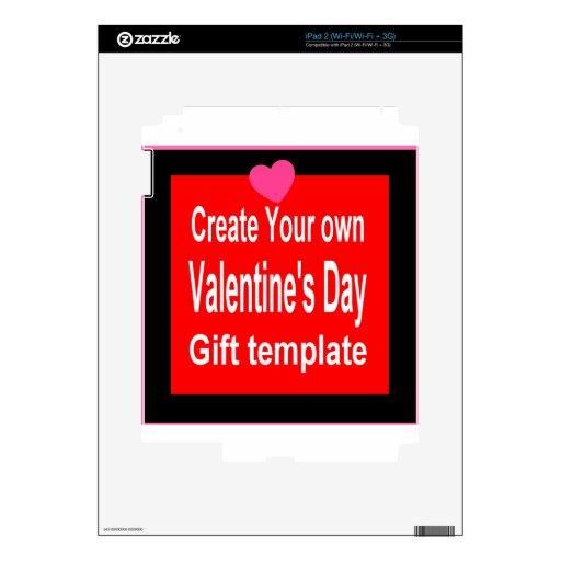 Cree su propio presente modificado para requisitos skins para iPad 2