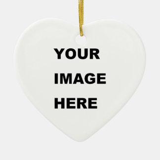 Cree su propio producto de Zazzle Adorno De Cerámica En Forma De Corazón