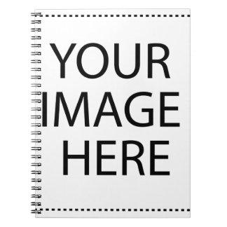 Cree su propio producto o regalo:-) spiral notebooks