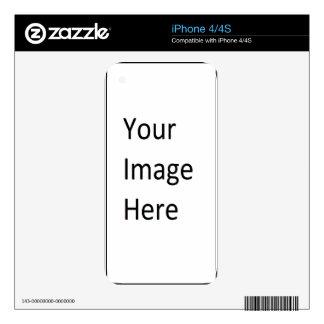 Cree su propio regalo de encargo del zombi para el iPhone 4S skins