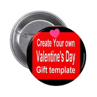 Cree su propio regalo de la tarjeta del día de San Pins