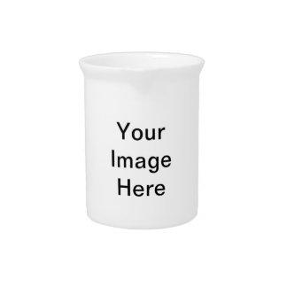 Cree su propio regalo lindo del día de la tarjeta jarras para bebida