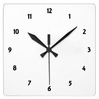 Cree su propio reloj cuadrado