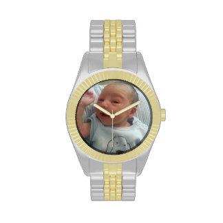 Cree su propio reloj de encargo de dos tonos