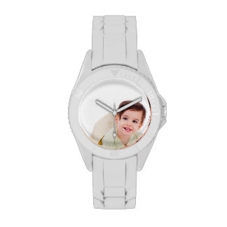 Cree su propio reloj deportivo blanco de encargo