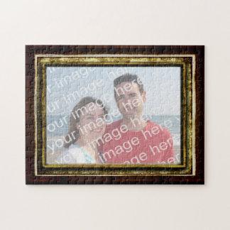 Cree su propio rompecabezas enmarcado de la foto