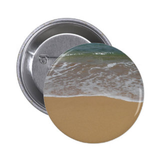 Cree su propio tema de la playa pin redondo 5 cm