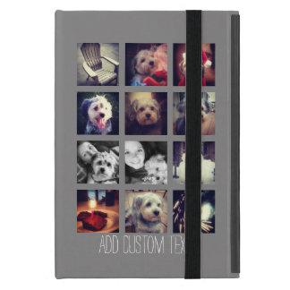 Cree su propio texto del personalizado del collage iPad mini coberturas