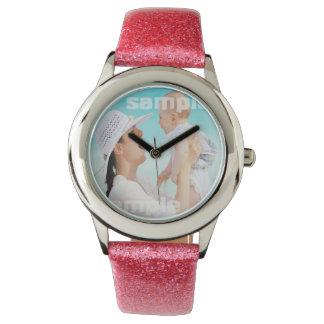 Cree su propio único personalizado relojes de pulsera