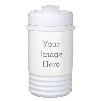 Cree su propio vaso refrigerador del iglú enfriador de bebida igloo